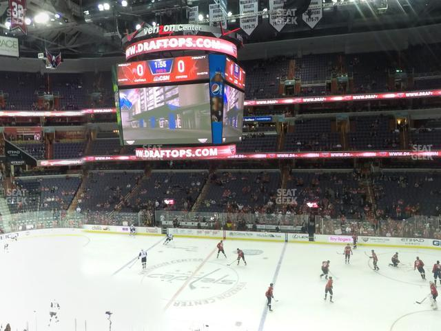 Capital One Arena Section 216 view