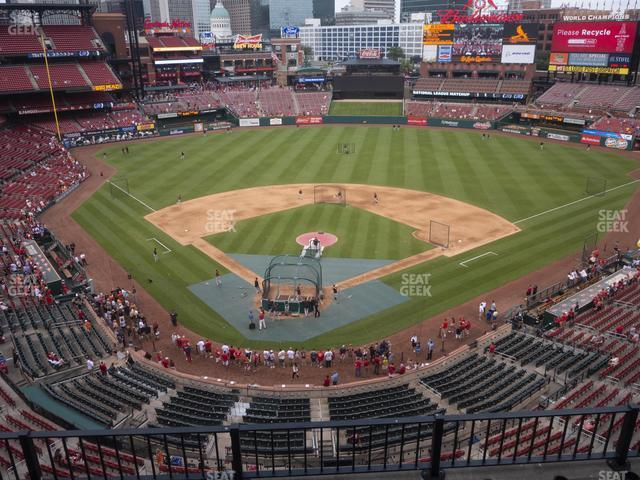 Busch Stadium Home Pavilion 349 view