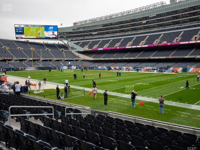Soldier Field Section 131 view