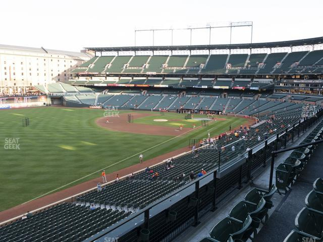 Oriole Park at Camden Yards Section 268 view