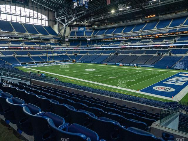 Lucas Oil Stadium Section 208 view