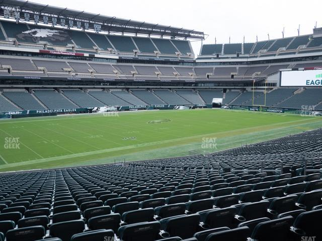 Lincoln Financial Field Section 135 view
