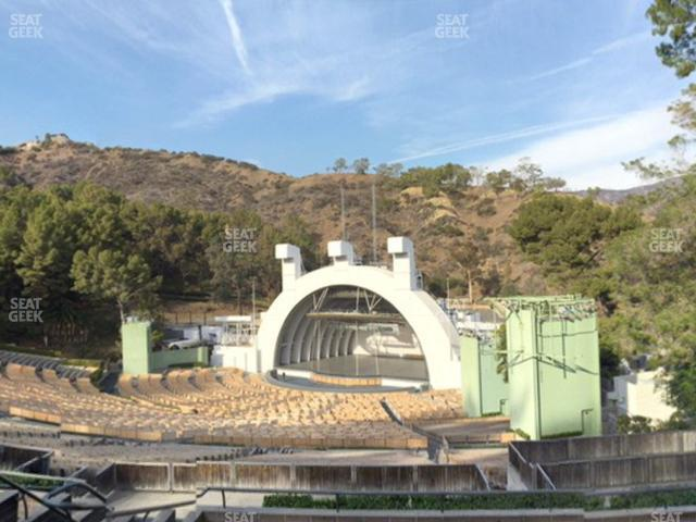 Hollywood Bowl Section L 3 view