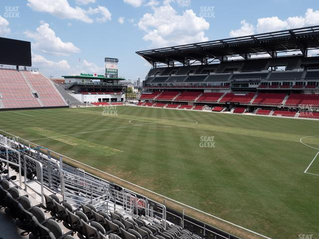 Audi Field Section 124 view