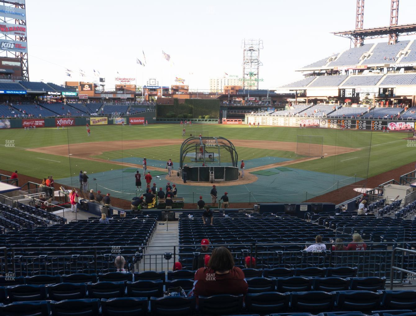 Philadelphia Phillies at Citizens Bank Park Section 124 View