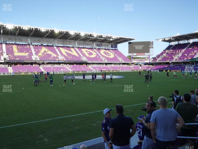 Exploria Stadium Section 17 view