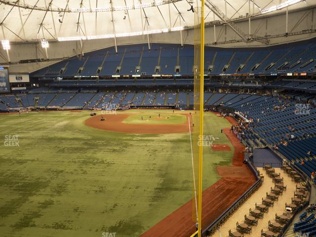 Tropicana Field Section 345 view