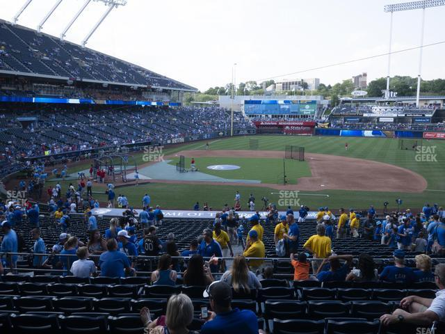 Kauffman Stadium Section 234 view