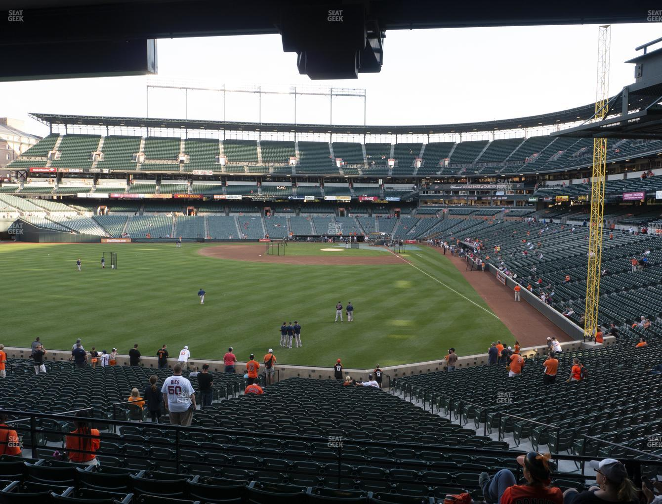 Baltimore Orioles at Oriole Park at Camden Yards Section 81 View
