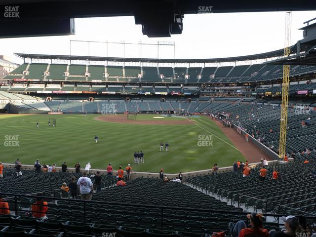 Oriole Park at Camden Yards Section 81 view