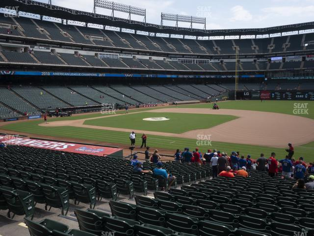 Globe Life Park Section 35 view