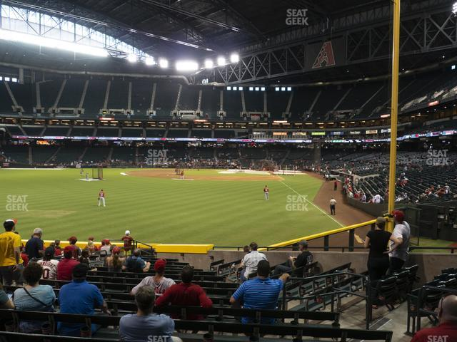Chase Field Section 139 view