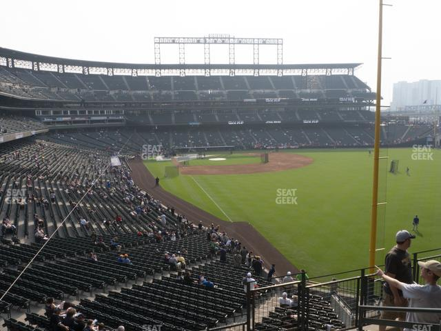 Coors Field Section 209 view