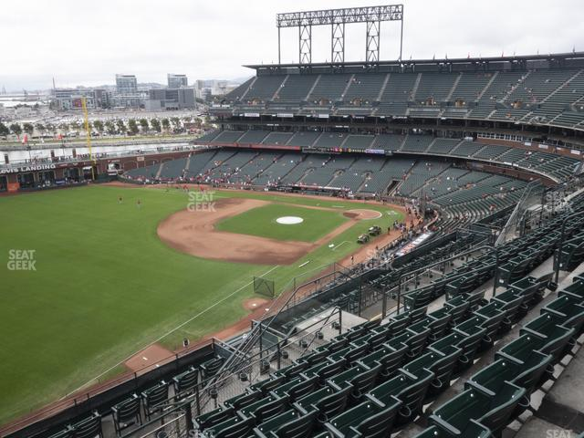 Oracle Park Section 331 view