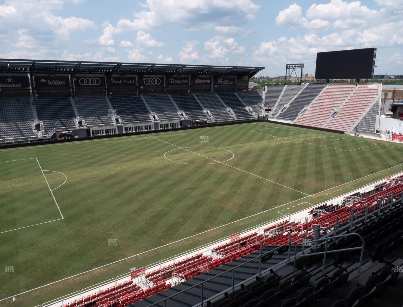D.C. United at Audi Field Section 109 View