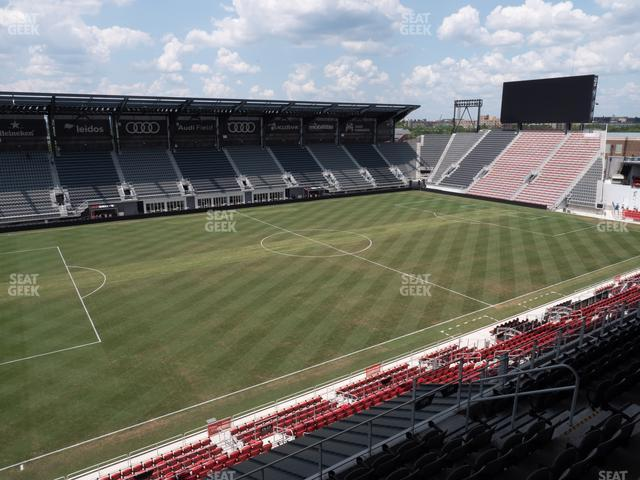 Audi Field Section 109 view