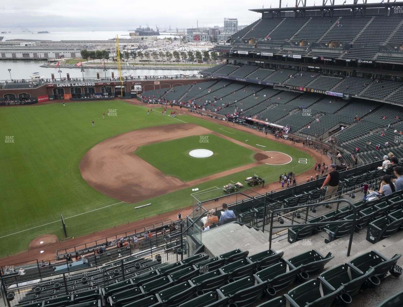 San Francisco Giants at Oracle Park Section 326 View