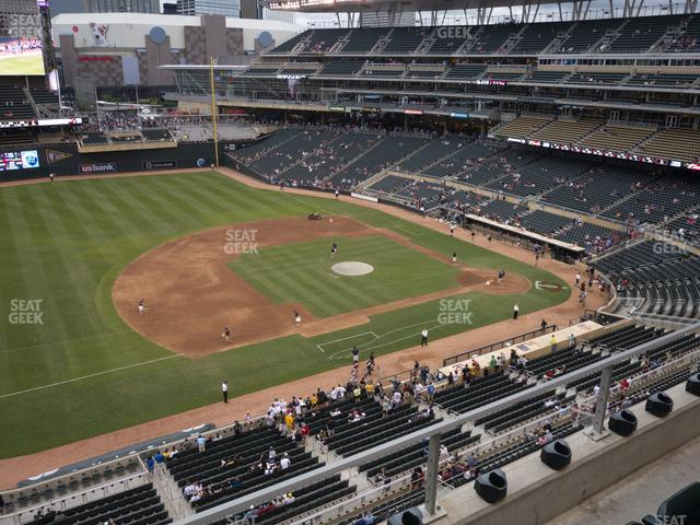 Target Field Section 223 view