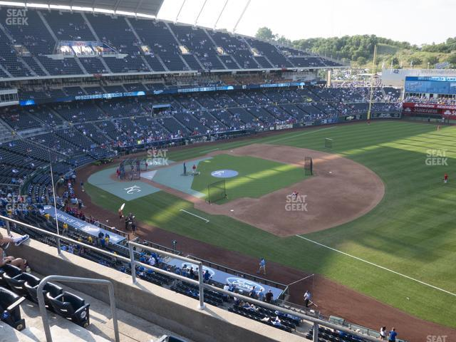 Kauffman Stadium Section 434 view