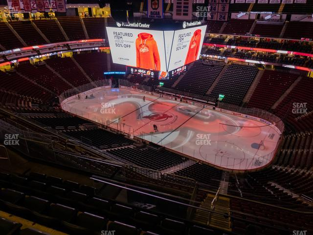 Prudential Center Section 232 view