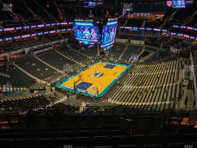 Spectrum Center Section 231 view