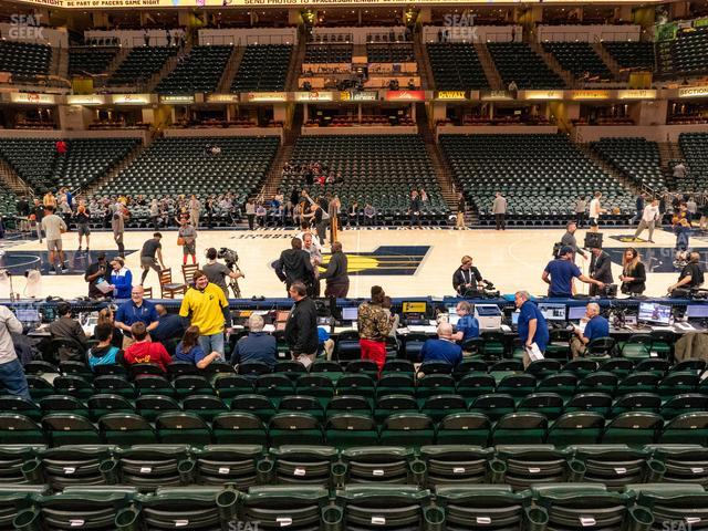 Bankers Life Fieldhouse Section 5 view