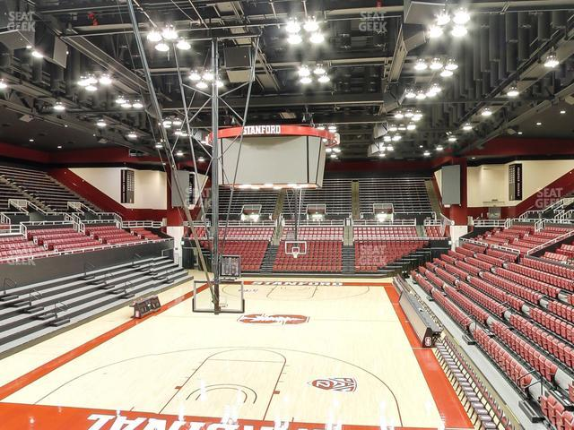 Maples Pavilion Section 15 view
