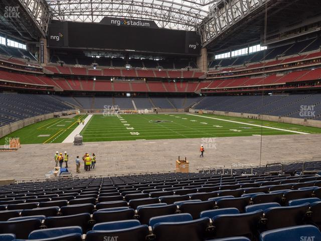 NRG Stadium Section 118 view