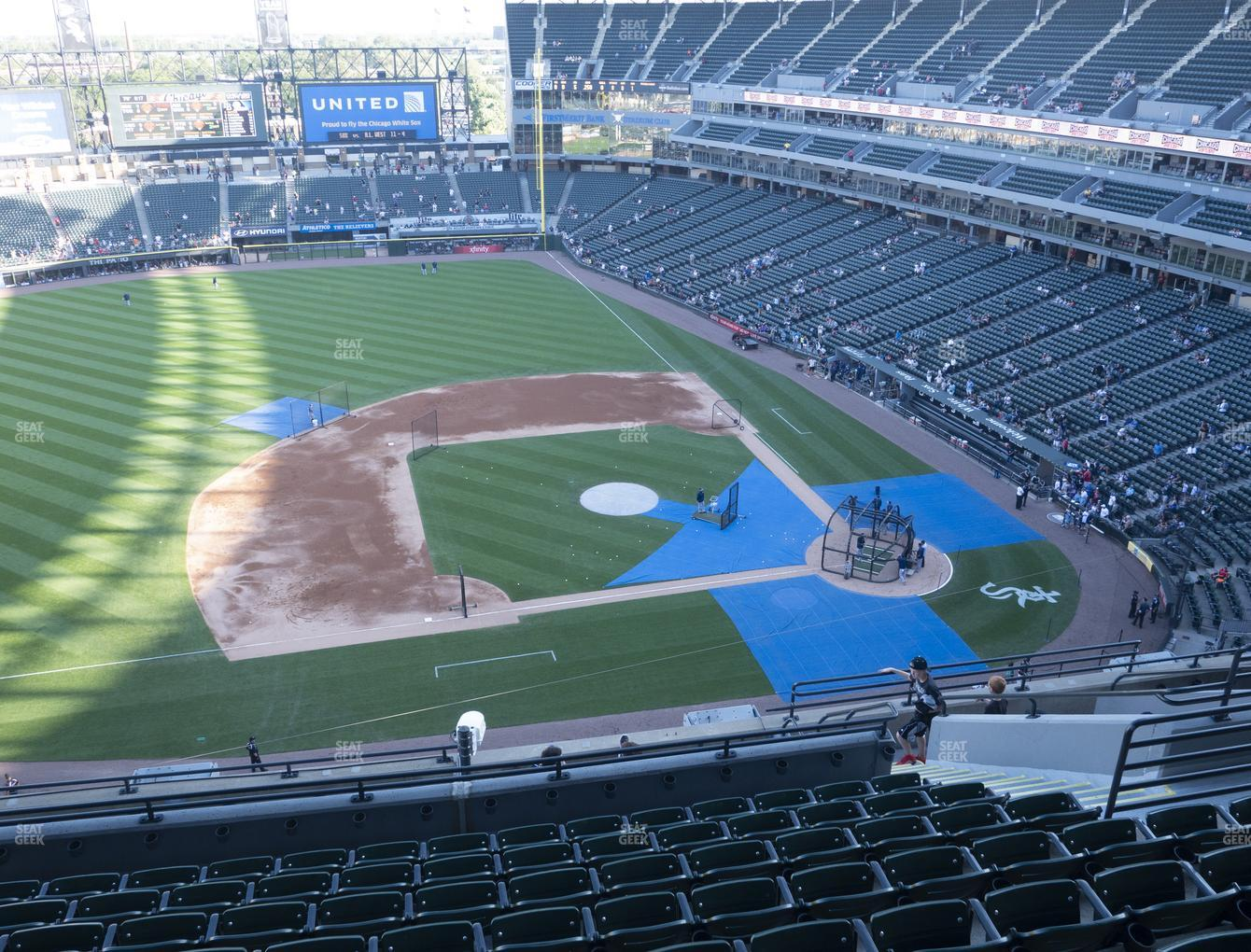 Chicago White Sox at Guaranteed Rate Field Section 540 View