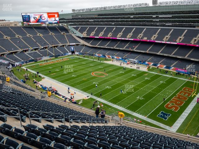 Soldier Field Section 431 view