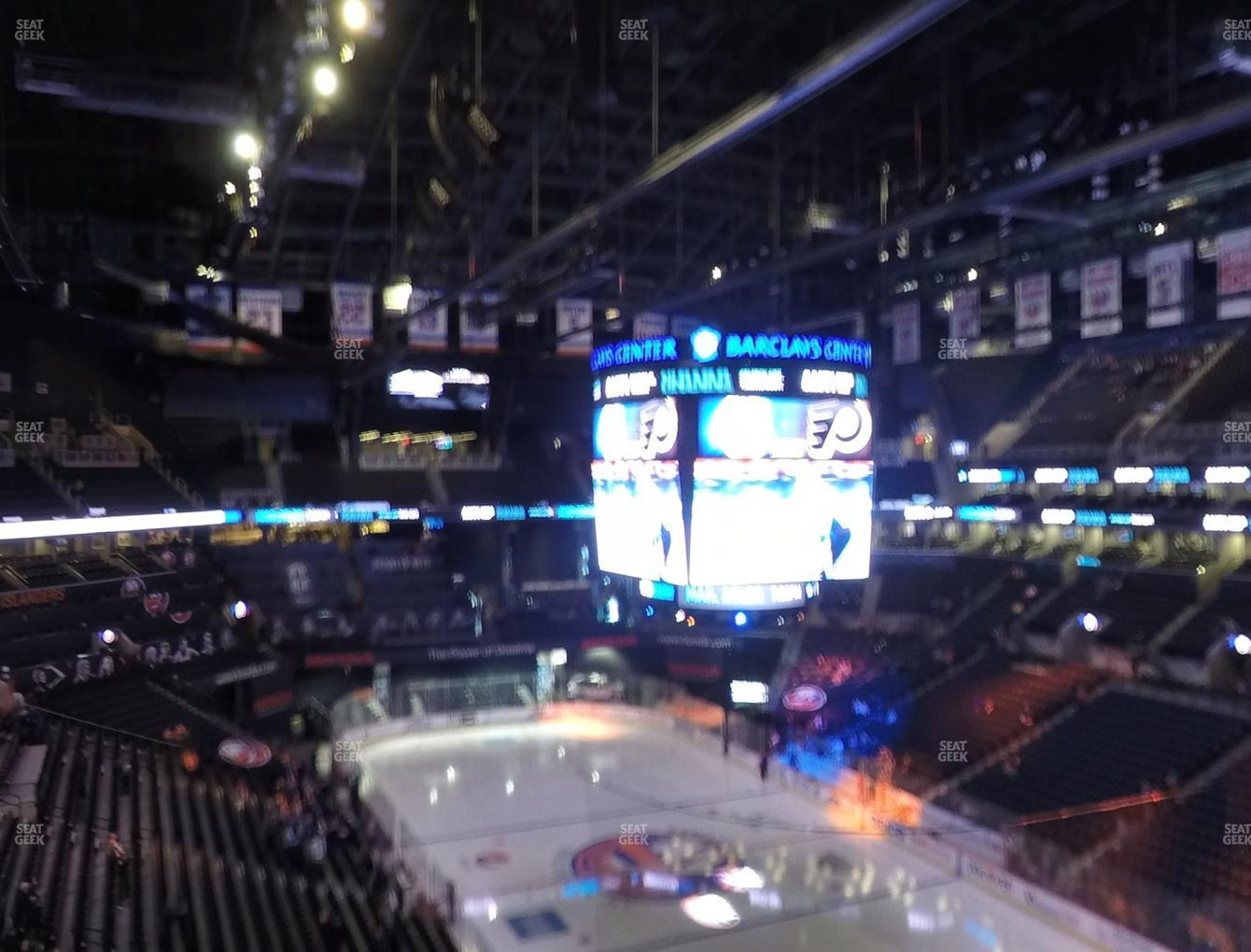 New York Islanders at Barclays Center Section 219 View