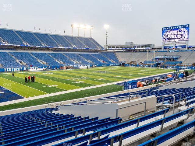 Kroger Field Section 22 view