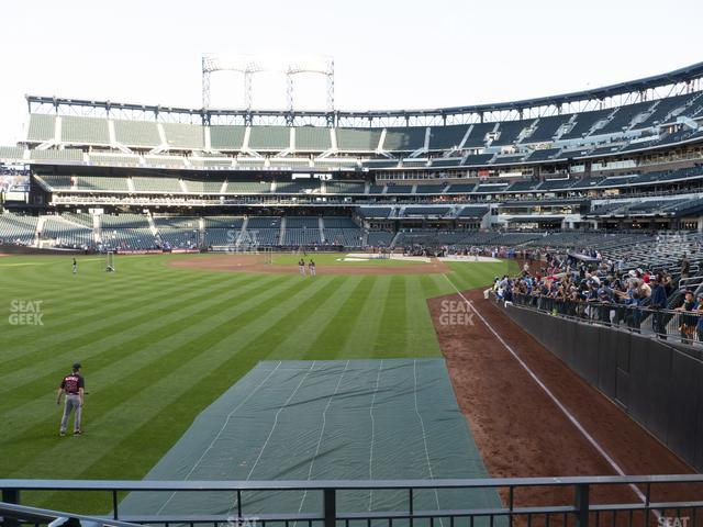 Citi Field Section 133 view