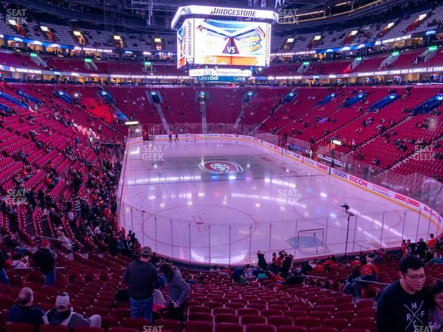 Bell Centre Section 108 view