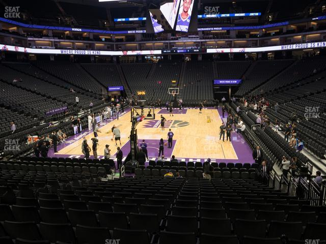 Golden 1 Center Section 126 view