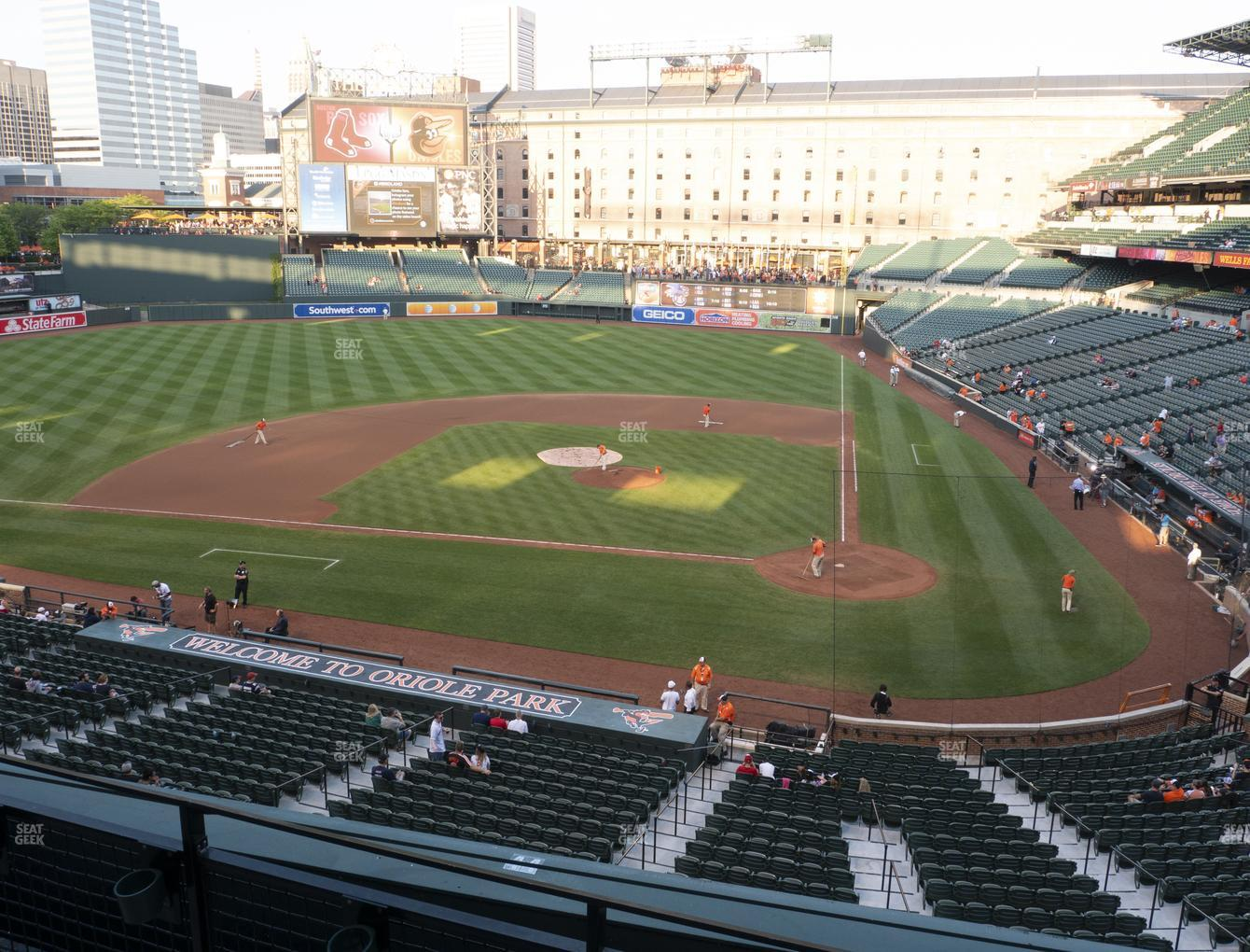 Baltimore Orioles at Oriole Park at Camden Yards Section 244 View