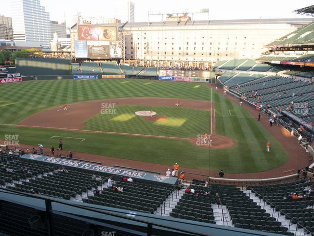 Oriole Park at Camden Yards Section 244 view