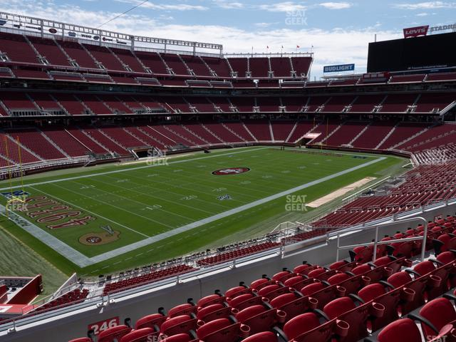 Levi's Stadium Section 246 view