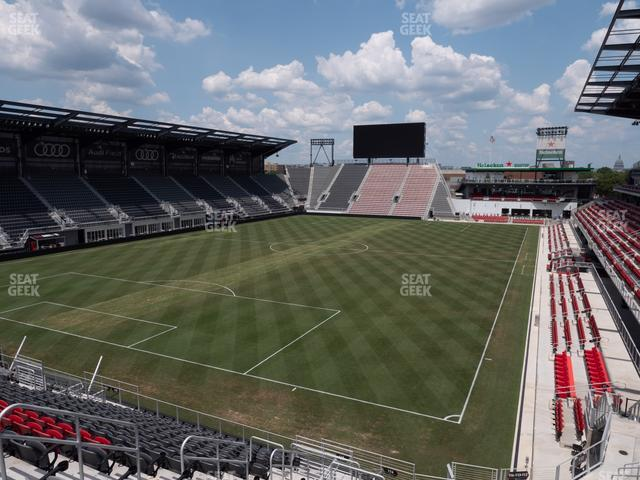 Audi Field Section 114 view