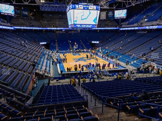 Rupp Arena Section 41 view