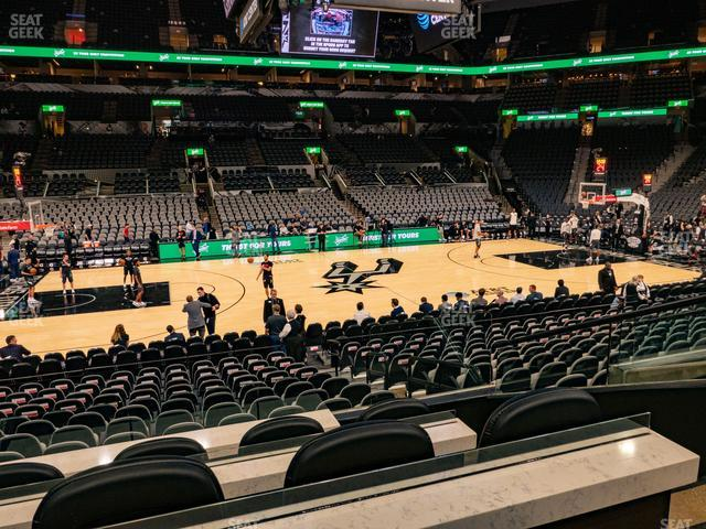 AT&T Center Box 6 view