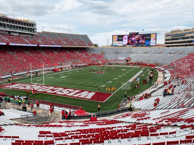 Camp Randall Stadium Section Y 2 view
