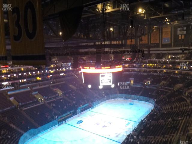 Staples Center Section 323 view