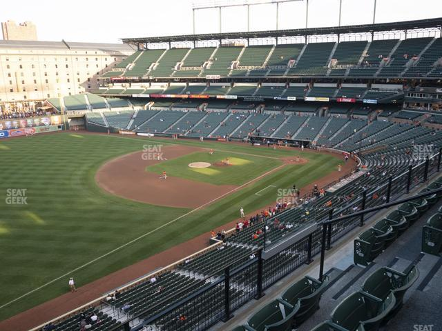 Oriole Park at Camden Yards Section 366 view