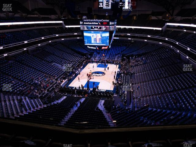 American Airlines Center Section 317 view