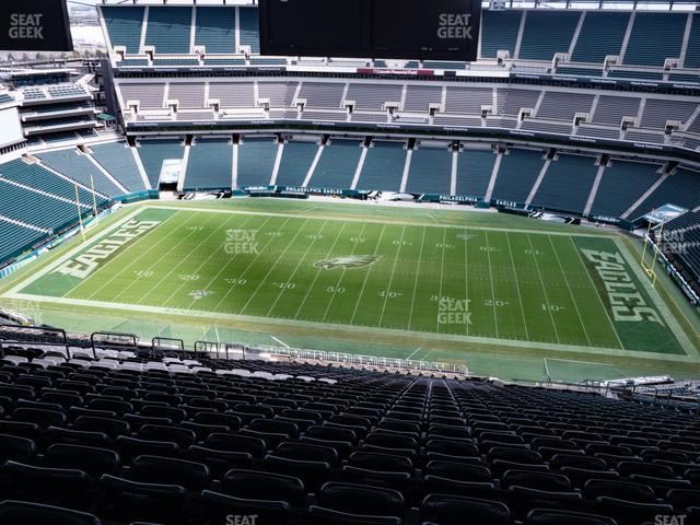 Lincoln Financial Field Section 202 view