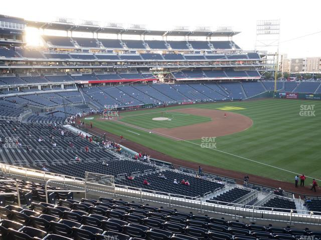 Nationals Park Section 227 view