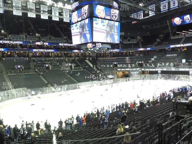 Barclays Center Section 111 view