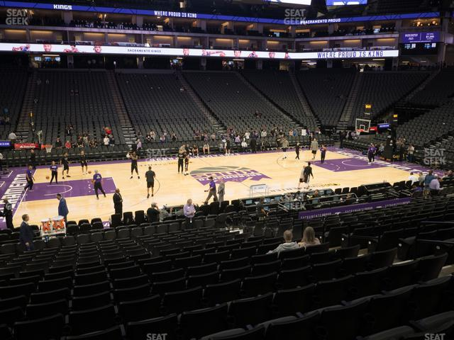 Golden 1 Center Section 108 view