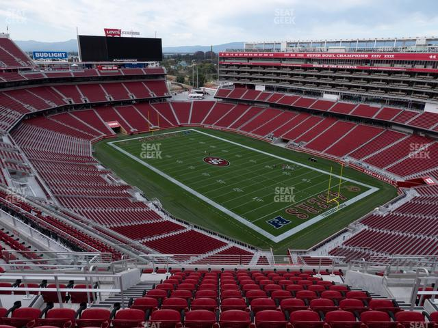 Levi's Stadium Section 404 view